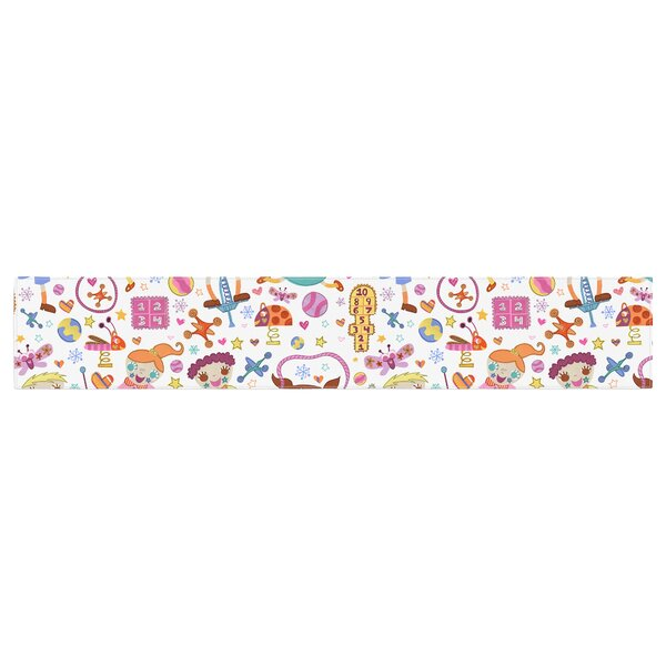 Jane Smith Vintage Playground IIII Table Runner by East Urban Home