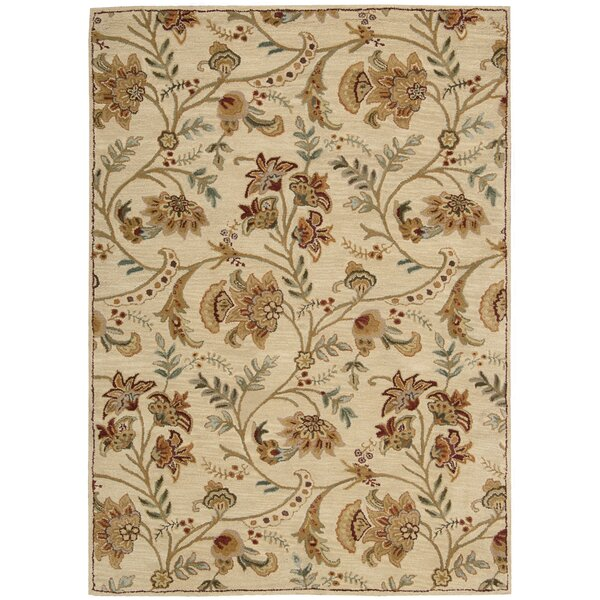 Broomhedge Cream Area Rug by Darby Home Co