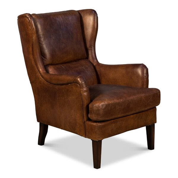 Buenrostro Wingback Chair by Loon Peak