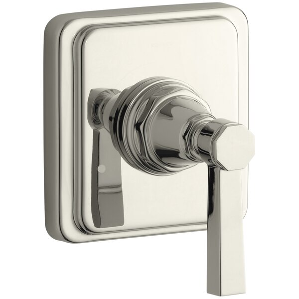 Pinstripe Valve Trim with Pure Design Lever Handle for Transfer Valve, Requires Valve by Kohler