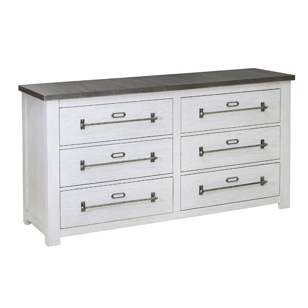 Myla 6 Drawer Double Dresser by Foundstone Foundstone
