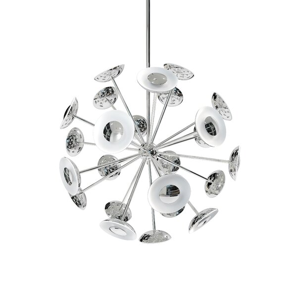 Dot 24-Light Sputnik Sphere Chandelier by Blackjack Lighting Blackjack Lighting