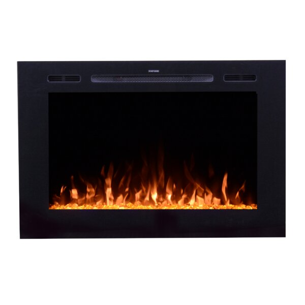 Forte Recessed Wall Mounted Electric Fireplace By Ebern Designs