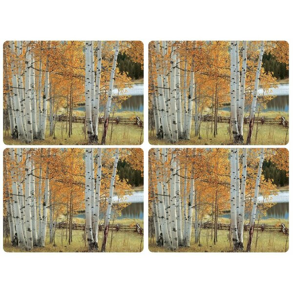 Birch Beauty 16 Placemat (Set of 4) by Pimpernel