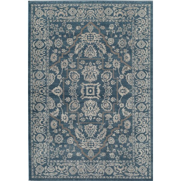 Estelle Audrey Blue Area Rug by Rugs America