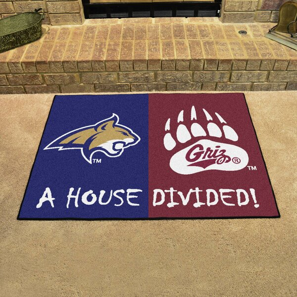 House Divided - Montana / Montana State Doormat by FANMATS