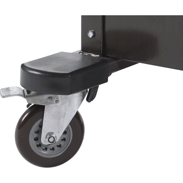 Rubber Bumpers Transport Casters by AARCO