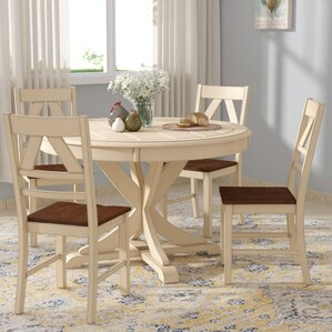 Sandersville 5 Piece Dining Set by August Grove