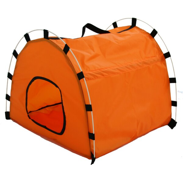 Nylon Portable Collapsible Yard Kennel by Pet Life