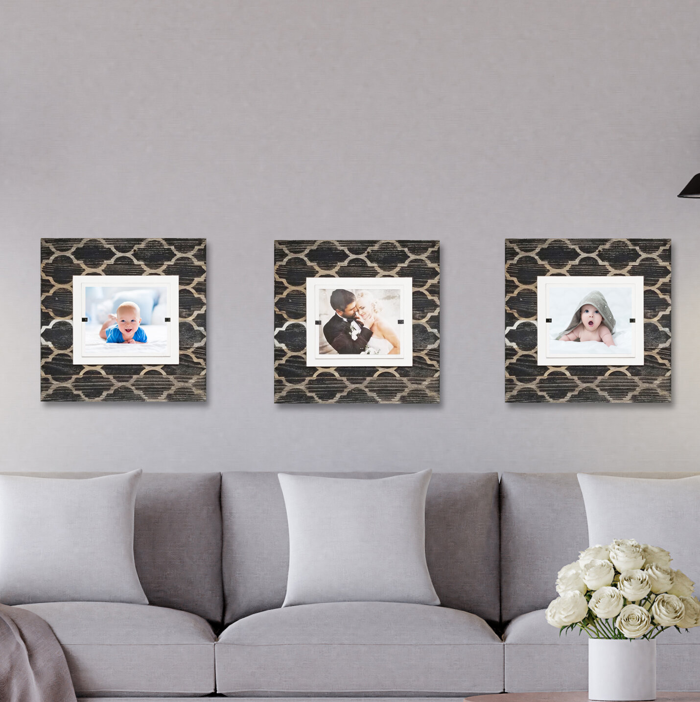 Rosecliff Heights Napoleon Tile Picture Frame Wayfair