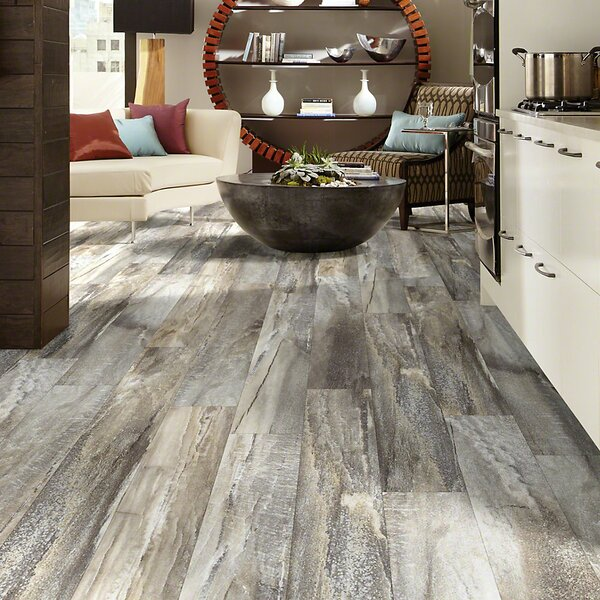 Elemental Supreme 6 x 36 x 4mm Luxury Vinyl Plank in Five Spice by Shaw Floors