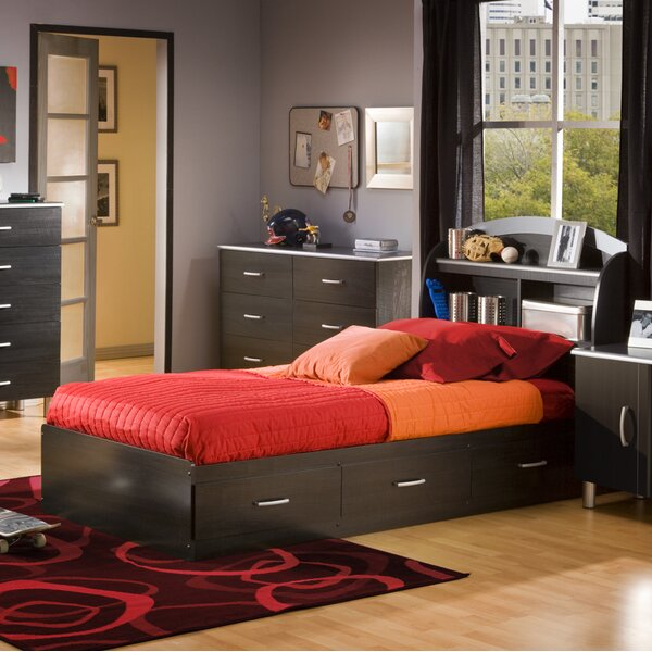 Cosmos Twin Mate's Bed with Drawers by South Shore