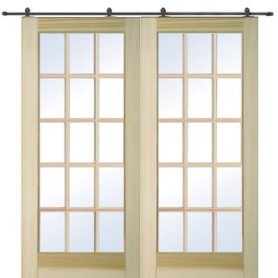 Interior glass french doors wayfair wood and glass 2 panel french door planetlyrics