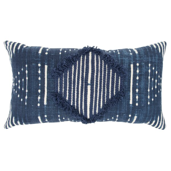 Poly-Filled Cotton Throw Pillow by Donny Osmond Home