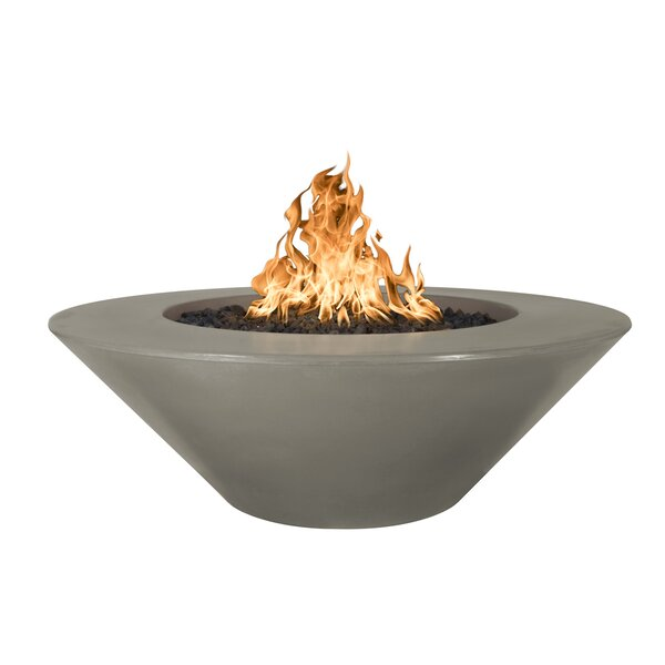 Cazo Concrete Fire Pit by The Outdoor Plus