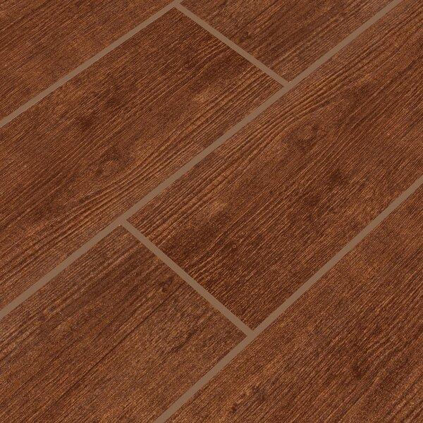 Sonoma Oak 6 x 24 Ceramic Wood Tile in Brown by MSI