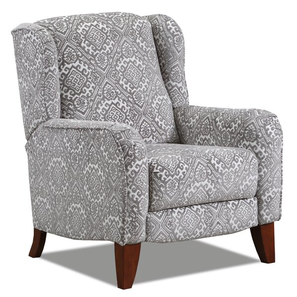 Cleland Hi-Leg Manual Recliner By Darby Home Co