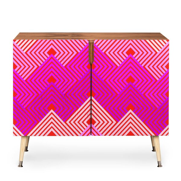 2 Door Accent Cabinet By East Urban Home