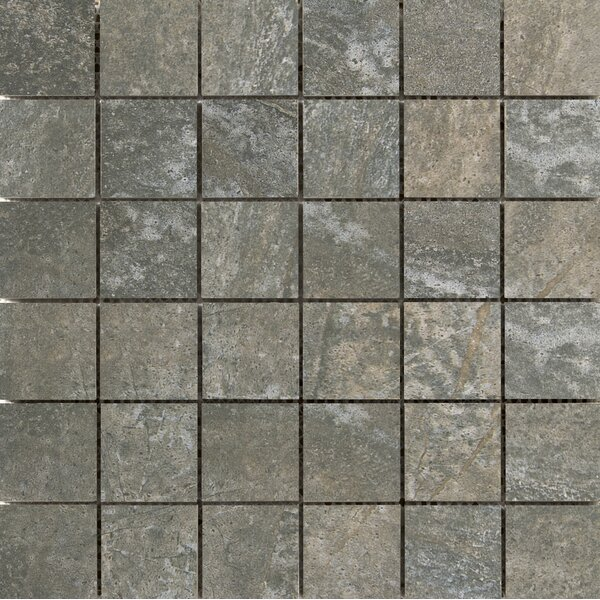 Trovata 2 x 2 Porcelain Mosaic Tile in Scroll by Emser Tile