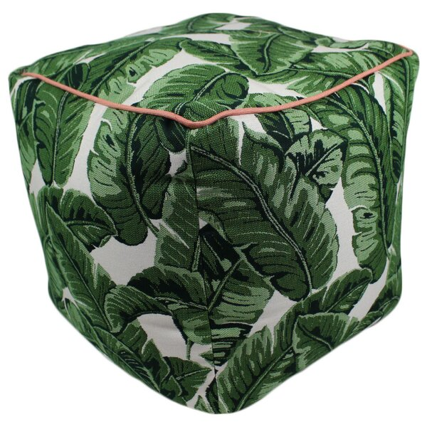 Dugan Tropics Jungle Pouf Ottoman by Bay Isle Home