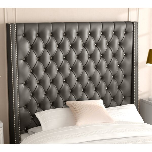 Guillaume Modern Upholstered Panel Headboard by Willa Arlo Interiors