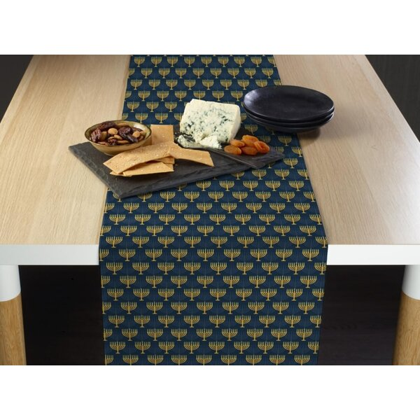 Estey Menorah Table Runner by The Holiday Aisle