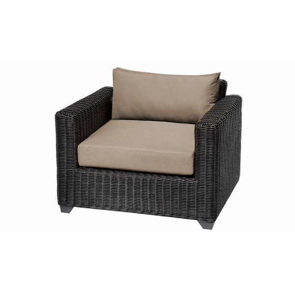 Mejia Patio Chair with Cushions by Rosecliff Heights