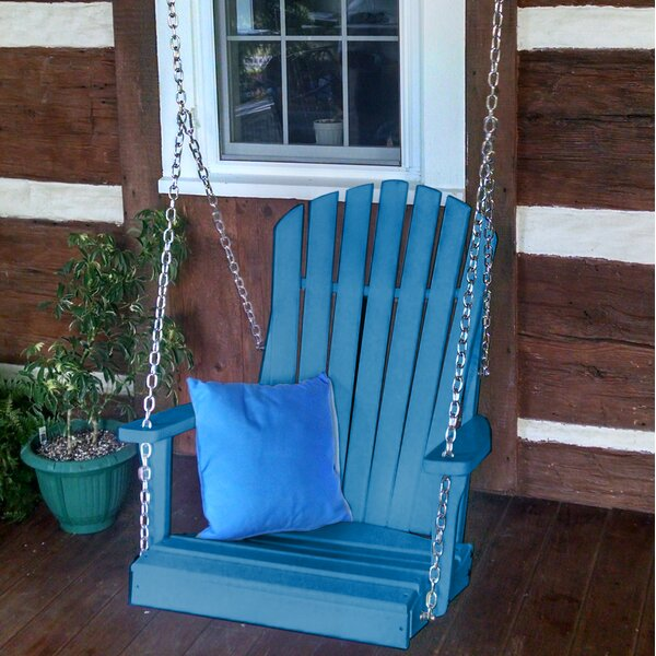 Ratto Adirondack Porch Swing by August Grove August Grove
