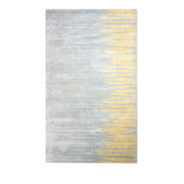 Vogue Hand-Woven Wool Gold/Gray Area Rug by Dynamic Rugs
