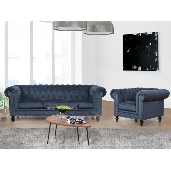 Jovani 2 Piece Living Room Set by Rosdorf Park