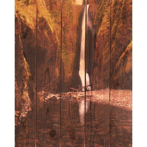 Reflection Falls Photographic Print by Gizaun Art