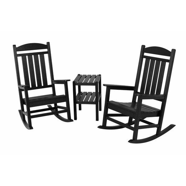 Presidential 3 Piece Seating Group By POLYWOOD® by POLYWOOD® Great Reviews