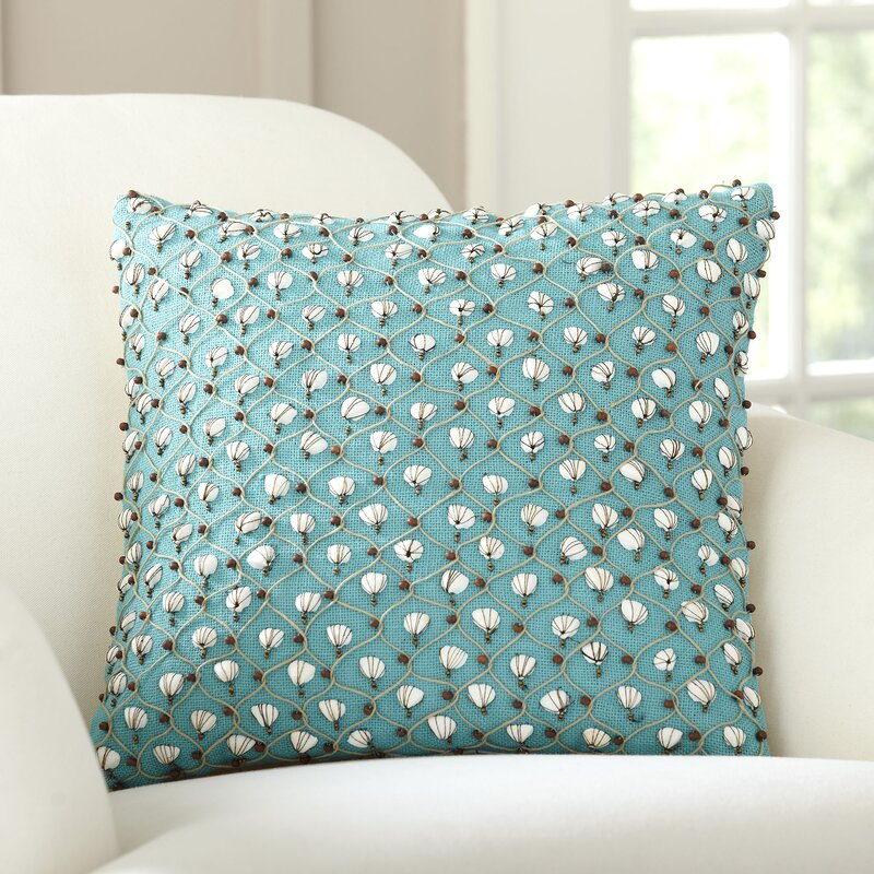 Decorative Pillows With Embellishments : Current Embellished Throw Pillow & Reviews Birch Lane