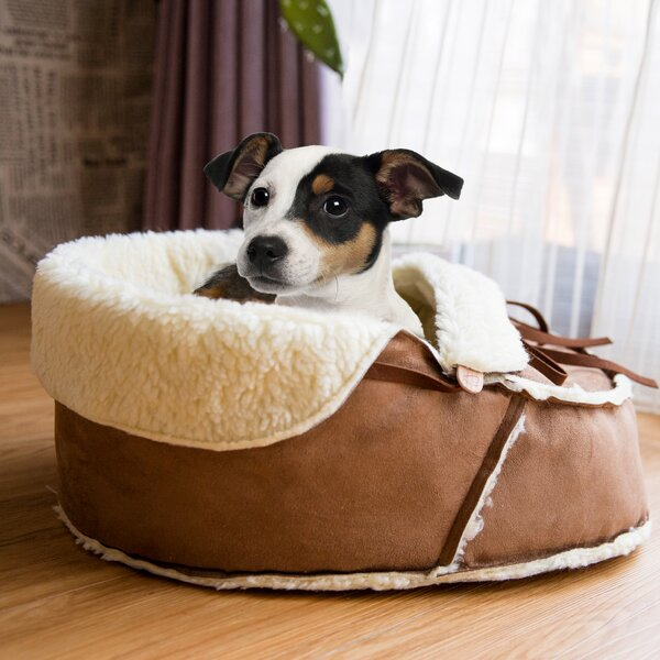 Coleen Moccasin Pet Bed by Tucker Murphy Pet