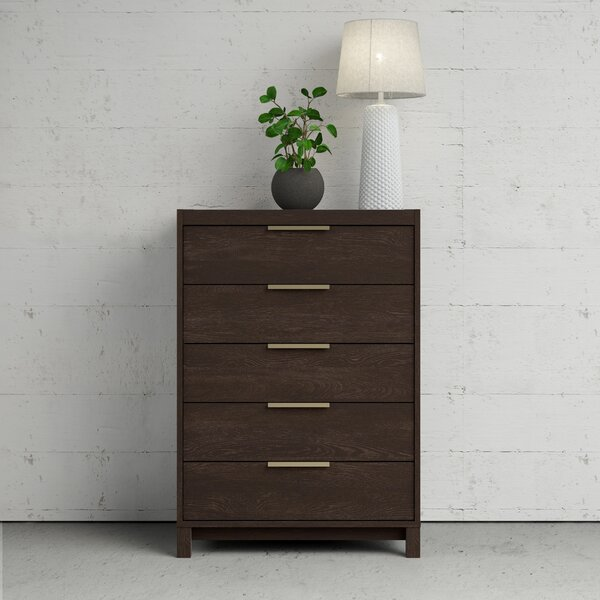 Glynda 5 Drawer Chest by Ivy Bronx