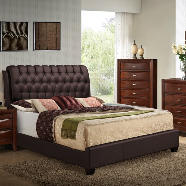 Barnes Upholstered Panel Bed by Wildon Home ®