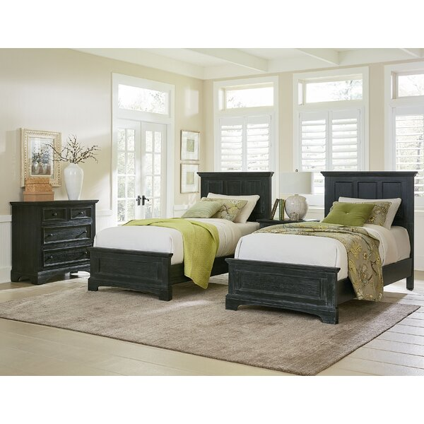 Farmhouse Twin Panel 5 Piece Bedroom Set by Inspired by Bassett