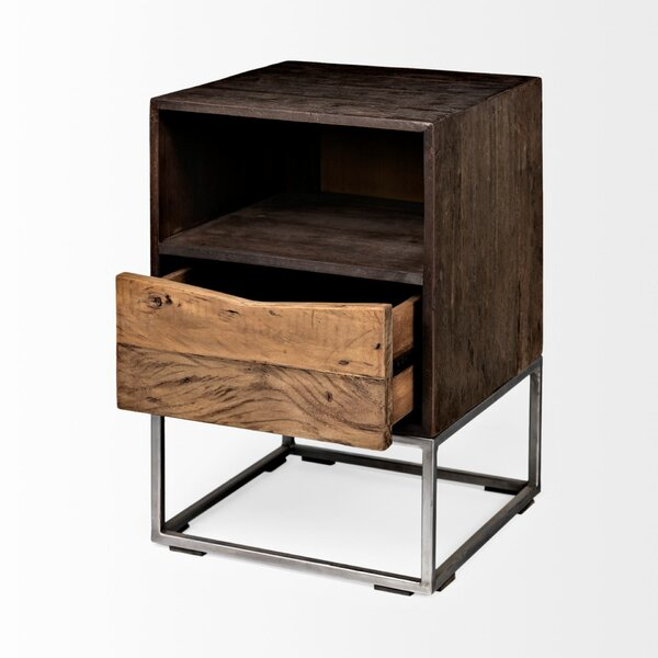 Bacon End Table by Union Rustic