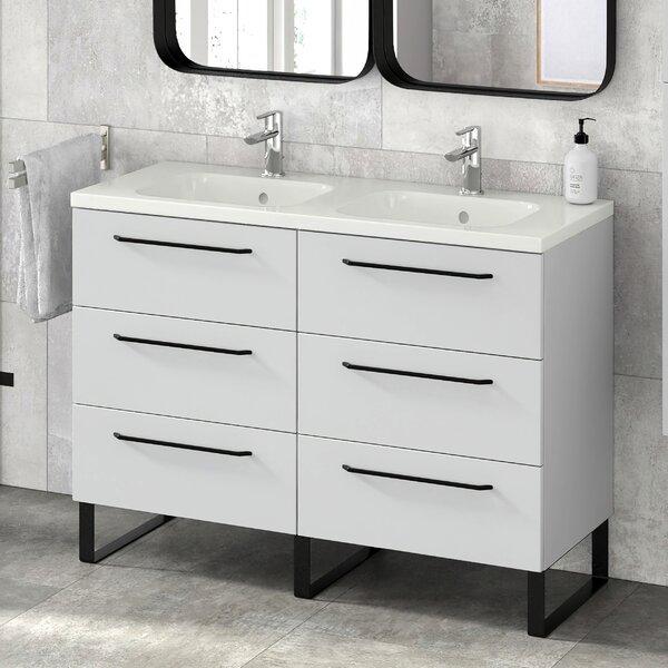 Dalhart 48 Double Bathroom Vanity Set