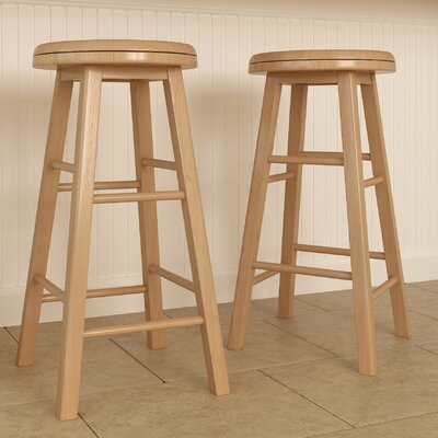Round Seat Bar Stools You Ll Love Wayfair Co Uk