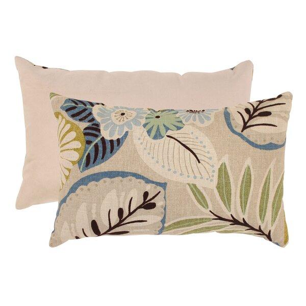 Nestor Cotton Lumbar Pillow by Beachcrest Home