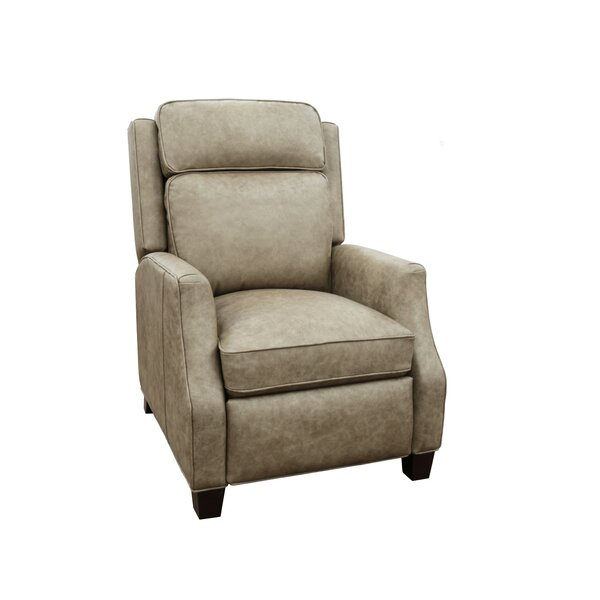 Rodrick Leather Manual Recliner by Canora Grey Canora Grey