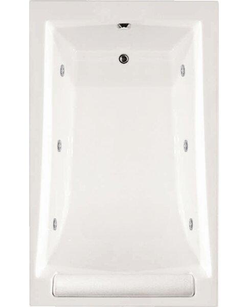 Designer Regal 70 x 34 Whirlpool Bathtub by Hydro Systems