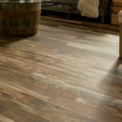 Architectural Remnants 7.64 x 47.83 x 12mm Oak Laminate Flooring in Old Original Wood Brown by Armstrong Flooring