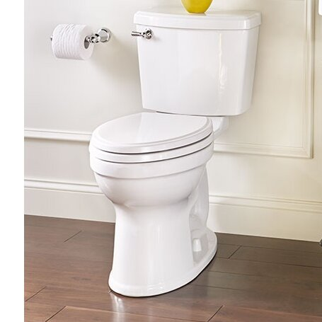 Champion Portsmouth 1.28 GPF Elongated Two-Piece Toilet by American Standard