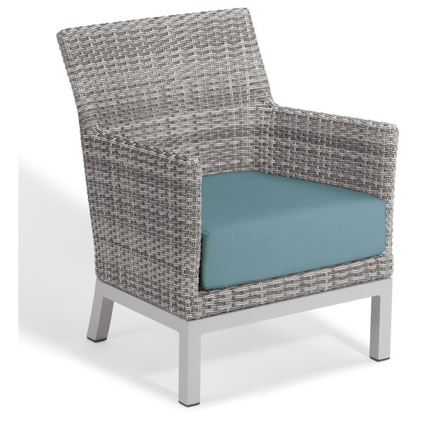 Saleem Club Patio Chair with Cushions by Brayden Studio
