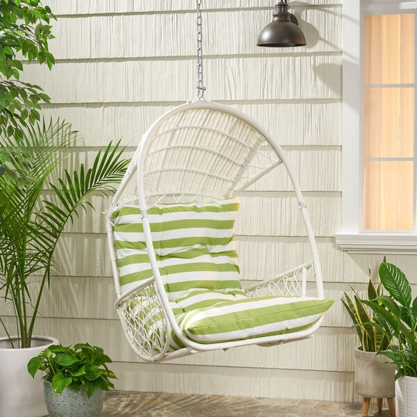 Berkshire Swing Chair With Cushion by Bayou Breeze