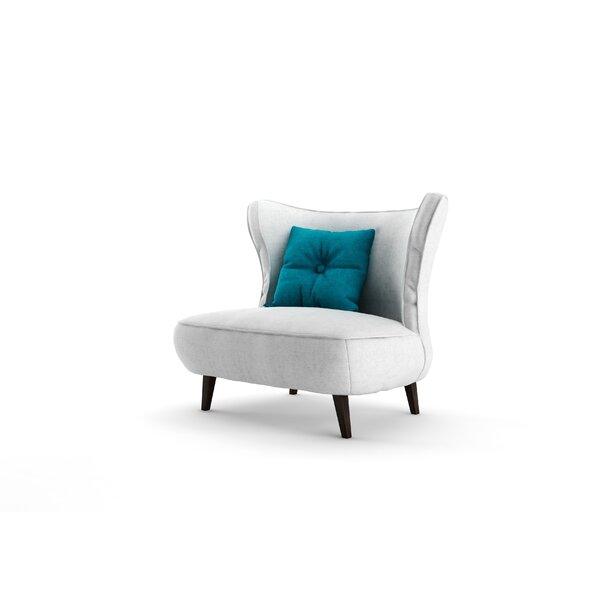 Rapheale Barrel Chair by Everly Quinn