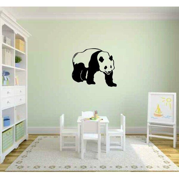 Imperial Panda Bear Wall Decal by Zoomie Kids