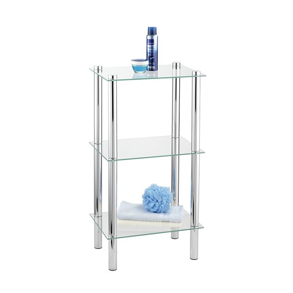 Addonis 15.7'' W x 29.1'' H x 11.8'' D Free-Standing Bathroom Shelves